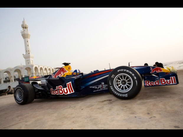 formula one red bull RB4 F1