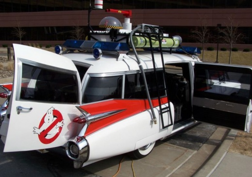 Ghostbusters cool car