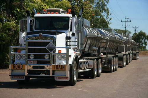 road trains kenworth trucks