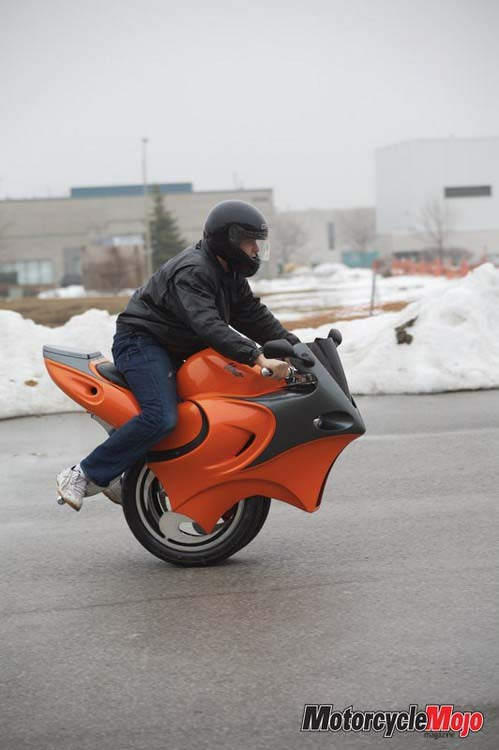 concept of motorcycle - The Uno
