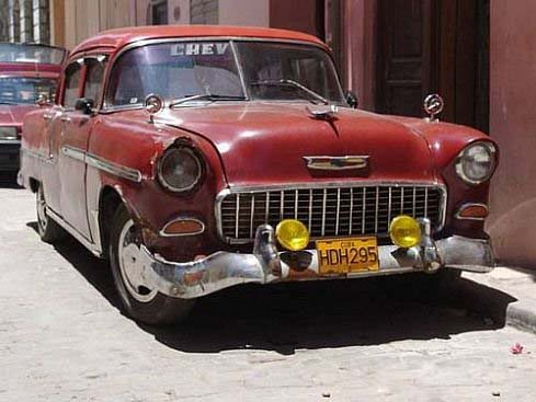 Cars on Cuba - old timers