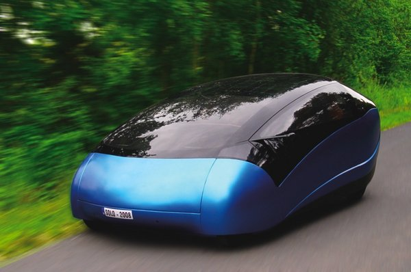 Who Invented The Automobile >> Antro Solo solar powerd car - Cars show
