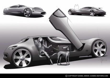 Electric Cars For Teens >> Future vehicles - Cars show