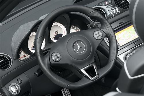 Mercedes black tuning