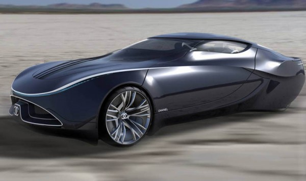 chanel fiole concept vehicle
