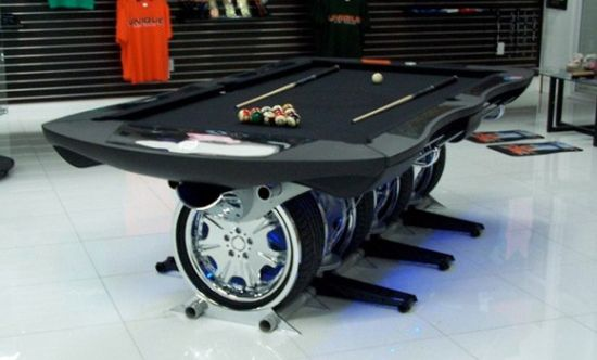 Autosports Pool Table Cars show