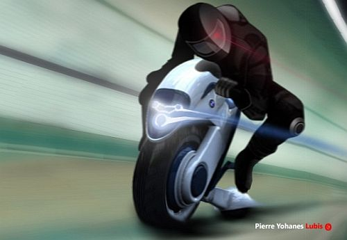 BMW Halbo Zero-emission Duo-Wheel Motorcycle
