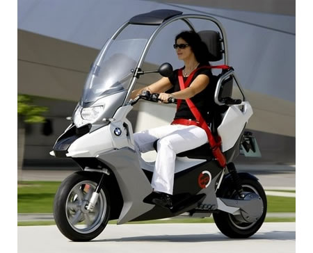 BMW C1-E Electric Scooter