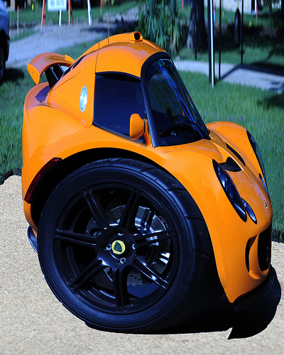 lotus exige segway small concept car