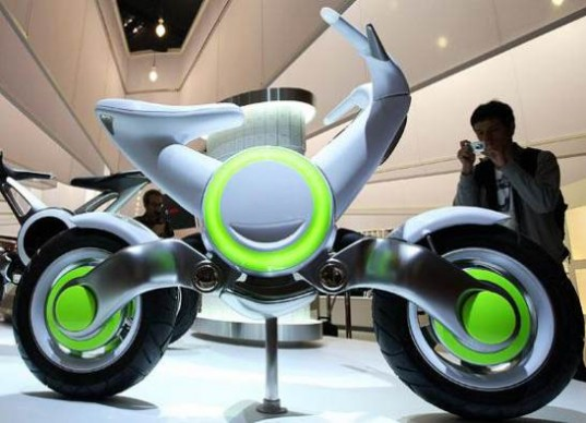yamaha ec f electric scooter concept