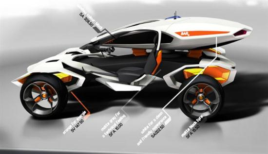 Ford Rescue X Concept Vehicle 05