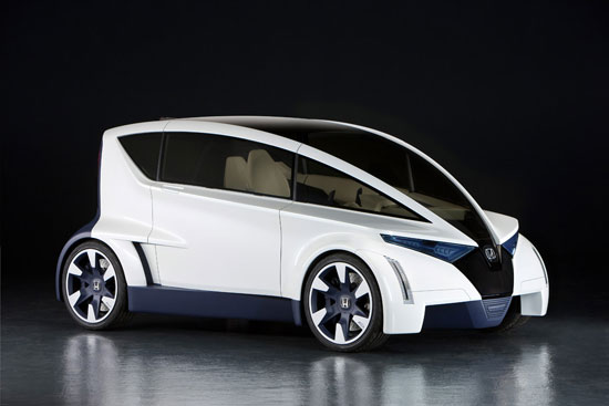 honda's p-nut concept vehicle