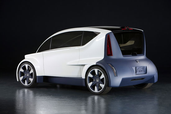 honda p-nut concept vehicle