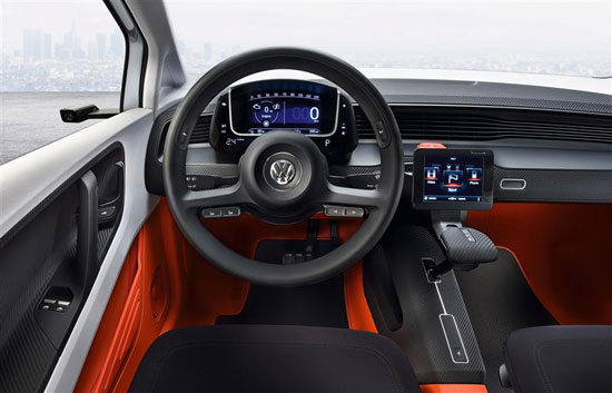 volkswagen up lite concept car