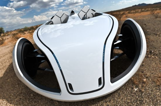 P-Eco Electric vehicle 01