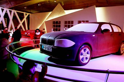 Chocolate Made Life-sized BMW 1-series 01