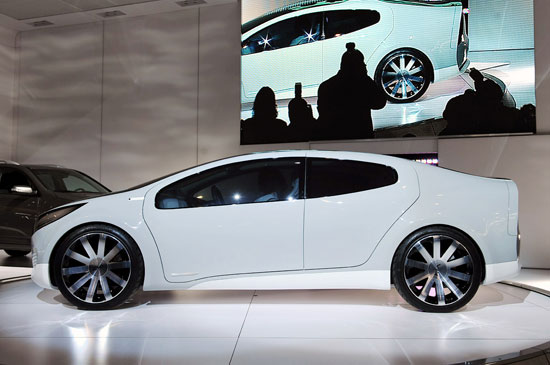 Kia Ray Hybrid Concept Car 02