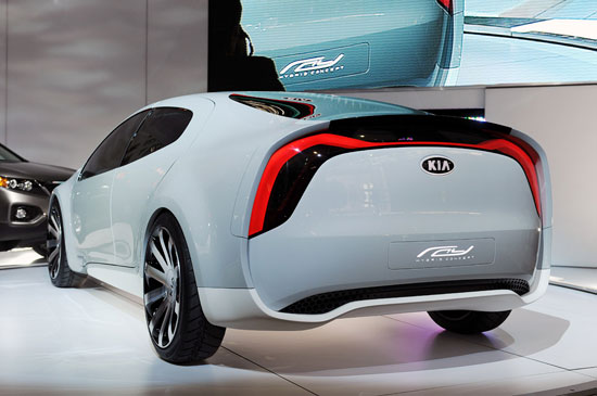 Kia Ray Hybrid Concept Car 03
