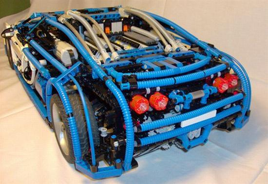lego blocks for making bugatti veyron cars show. Black Bedroom Furniture Sets. Home Design Ideas