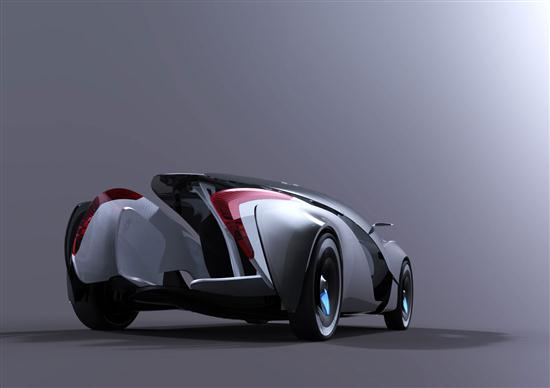 Maserati Tramontane 2010 Concept Vehicle 06