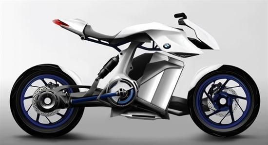 Fuel Cell Powered BMW Bike 01