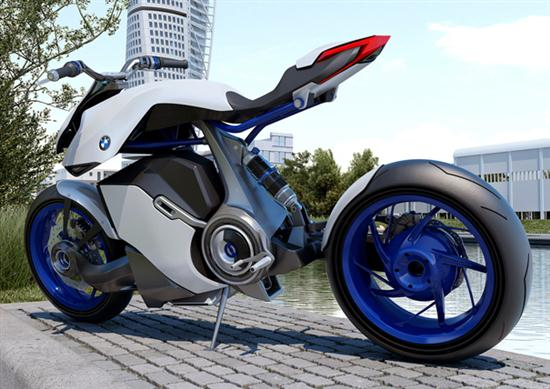 Fuel Cell Powered BMW Bike 04