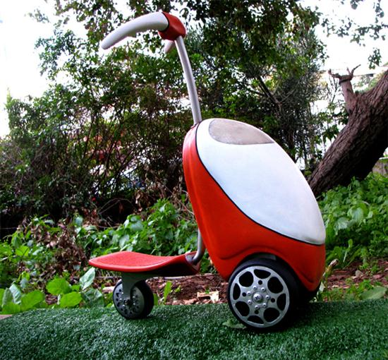 Lawnmower Scooter 01