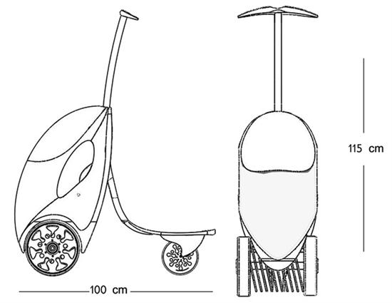 Lawnmower Scooter 02