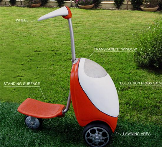 Lawnmower Scooter 03