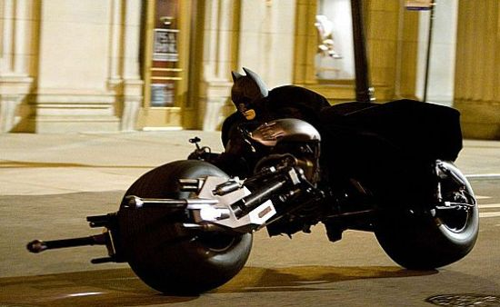 Batpod, Batman's motorcycle Replica 04