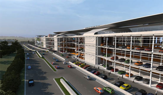 Largest Auto Mall With Test Drive Rooftop Track 05