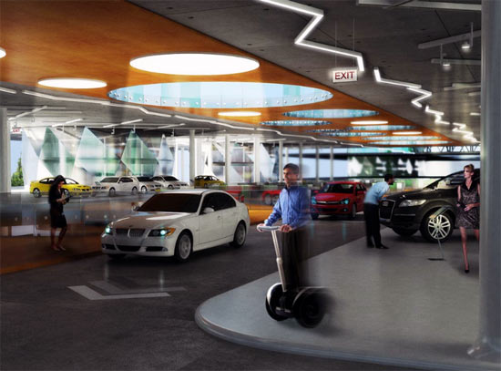 Largest Auto Mall With Test Drive Rooftop Track 08