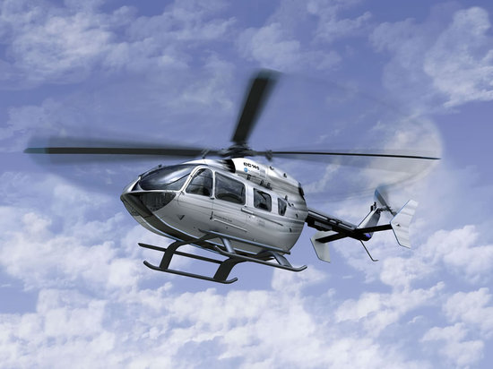Mercedes Helicopter EC145 for Luxury Flight 01