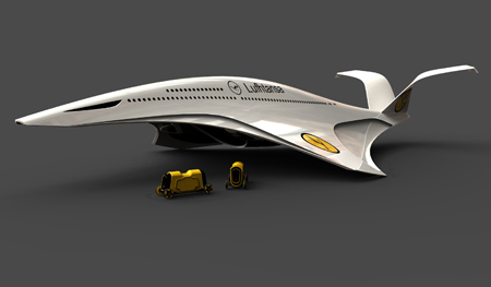 New Vertical TakeOff With A350H Airliner Pwered by Cryogenic Hydrogen 01