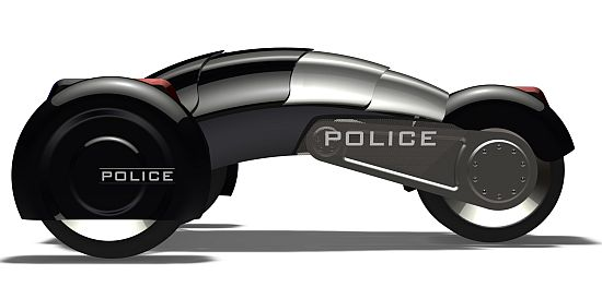 All-electric Robot Police Car 07