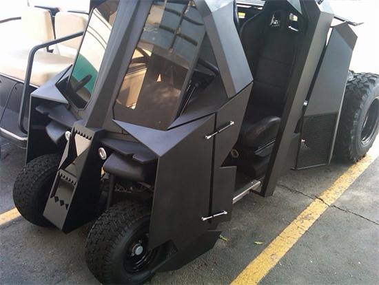 Batman Golf Cart 01