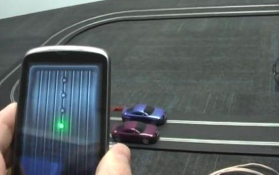 Control Slot Cars Over Smartphone 01