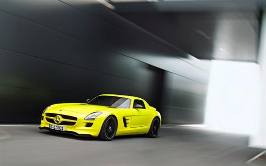 Mercedes-Benz SLS AMG Electric Car Prototype 03