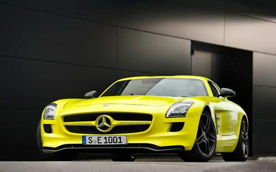 Mercedes-Benz SLS AMG Electric Car Prototype 04