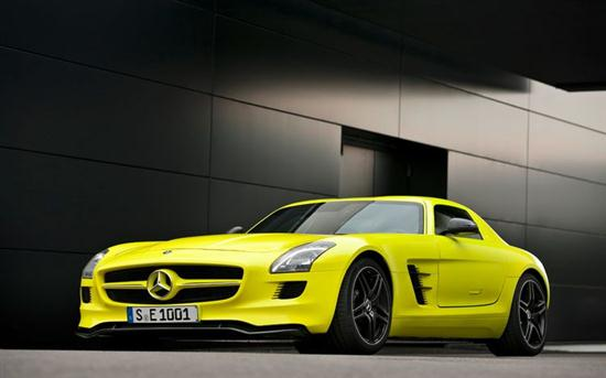 Mercedes-Benz SLS AMG Electric Car Prototype 05