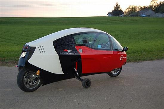 electric motorcycle enclosed - photo #40