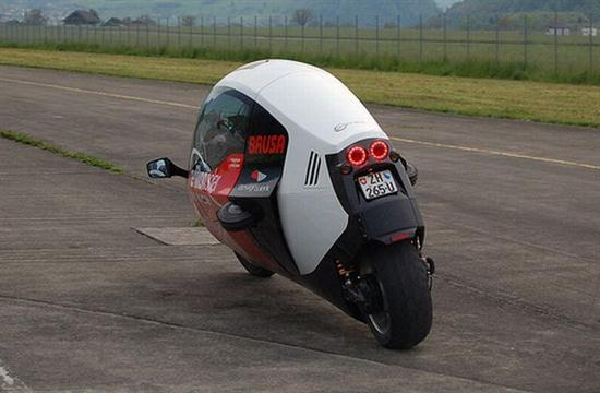 Zerotracer Enclosed Electric Motorbike Cars Show