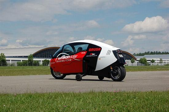 electric motorcycle enclosed - photo #36