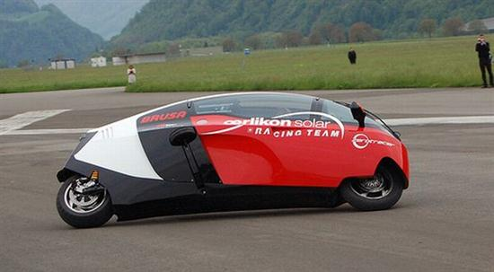 electric motorcycle enclosed - photo #12