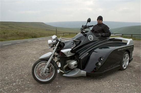 Conquest Motorcycle An Motorcycle for Wheelchair Users 05