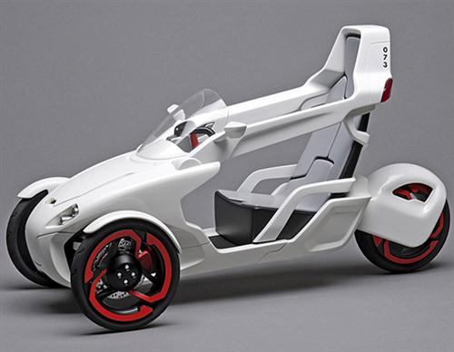 Electric Tricycle Concept 01