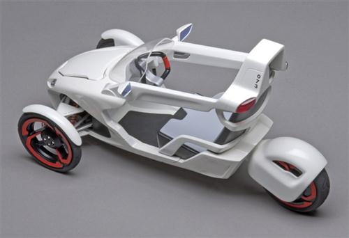 Electric Tricycle Concept Cars Show