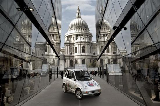 London G-Wiz Electric Car 01