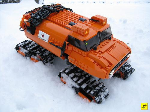 LEGO Snow Vehicle - Stilzkin Indrik-03