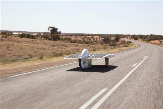 The Fastest Solar Car Sunswift IVy - 02